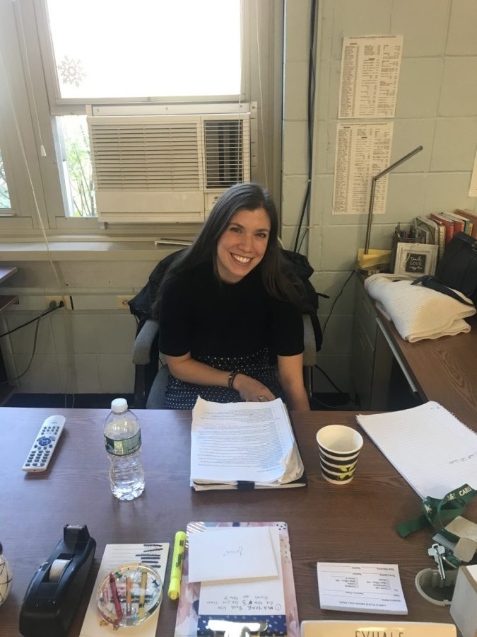 Interview With Ms. Albert-- NEW 8th Grade English Teacher!
