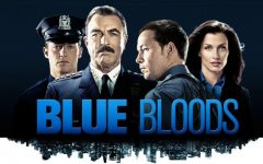 Blue Bloods-The Reagans: Jamie (Will Estes), Frank (Tom Selleck), Danny (Donnie Wahlberg), Erin (Bridget Moynahan)