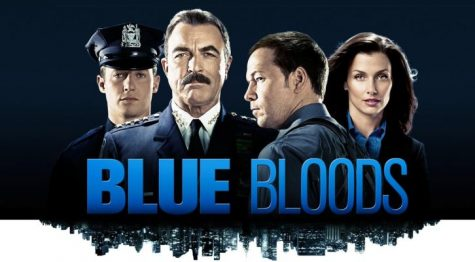 Blue Bloods-The Reagans: Jamie (Will Estes), Frank (Tom Selleck), Danny (Donnie Wahlberg), Erin (Bridget Moynahan)